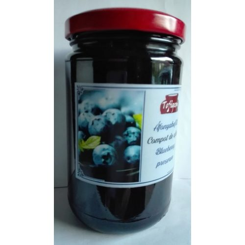 Kézműves székely befőtt - Fekete áfonya 300 g