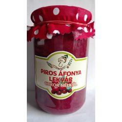 Kézműves Székely cukormentes lekvár - Piros áfonya 300g