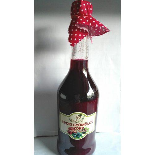 Kézműves Székely cukormentes ital - Erdei gyümölcs 500ml üveges