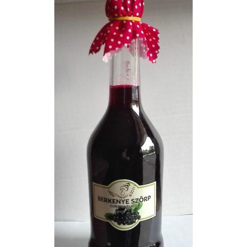 Kézműves székely cukormentes ital - Fekete berkenye 500 ml üveges