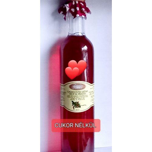 Kézműves székely cukormentes ital - Galagonya 500ml üveges