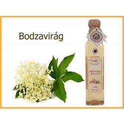 erdélyi bodzavirág szörp üveges