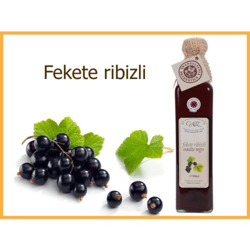 erdélyi fekete ribizli szörp üveges