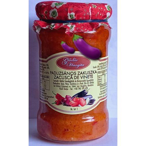 Kézműves Székely Padlizsános Zakuszka 300 ml GE