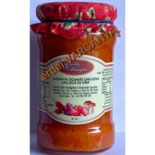 Kézműves Székely Vargányagombás Zakuszka 300 ml GE