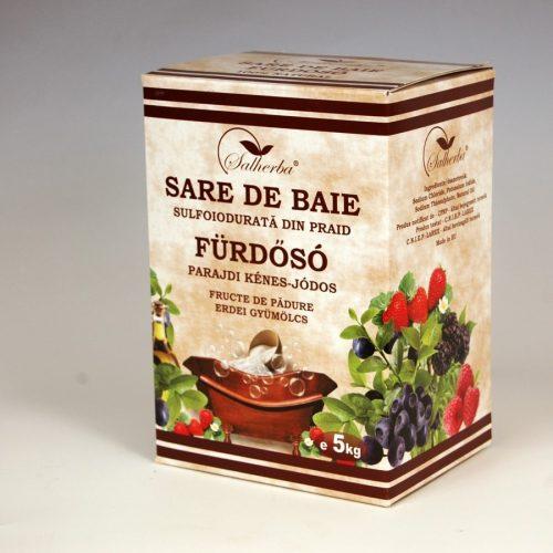 parajdi erdei gyümölcsös fürdősó